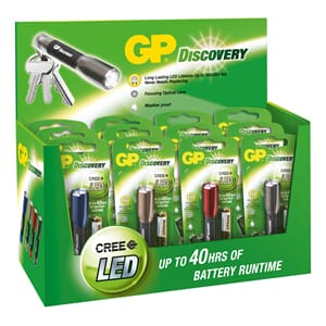 Lykt LED GP Discovery