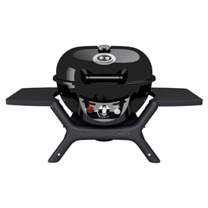 Grill MINICHEF Gass P-420 Sort OUTDOOR CHEF