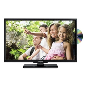 TV LED 32'' Riks-TV, Satelitt, DVD, sort. Finlux