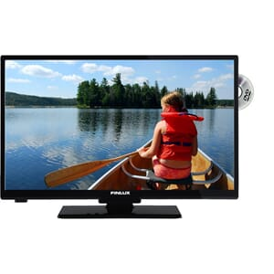 TV LED 24''  Riks-Tv, Satellitt, DVD, Smart. Finlux