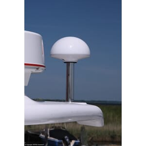 Antenne TV/DAB Tertec Marine Hvit 25 mm