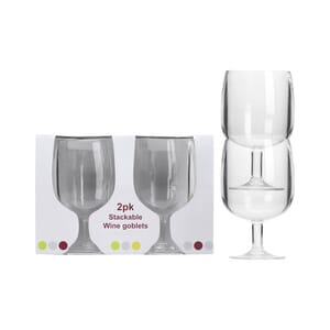 Glass vin Goblet 2pk. 23cl FLAMEFIELD
