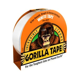 Gorilla Tape Hvit 27m x 48mm