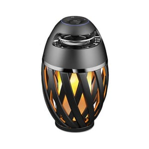 Lampe LED Flammeimmitasjon m/Bluetooth