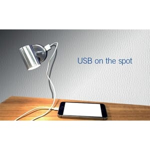 Spotlight LED m.USB
